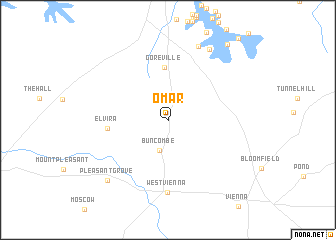 map of Omar