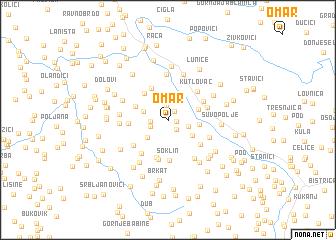 map of Omar