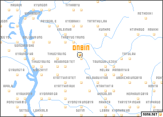 map of Onbin