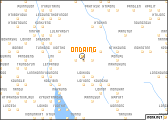 map of Ondaing