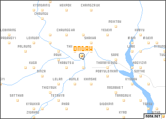 map of Ôndaw