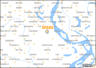 map of Ondaw