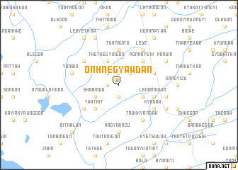 map of Onhnegyawdan