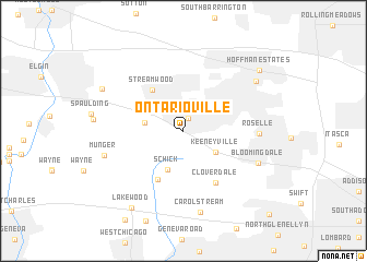 map of Ontarioville