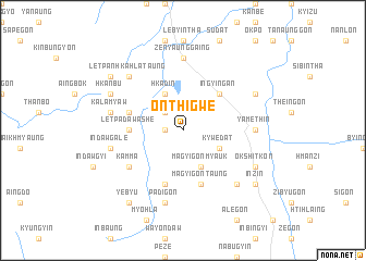 map of Onthigwe