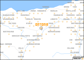 map of Ontoria