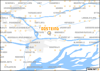 map of Oosteind