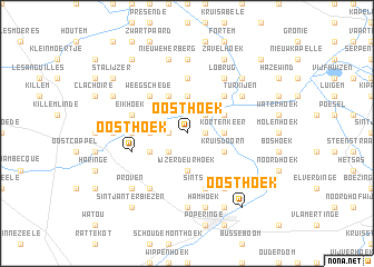 map of Oosthoek