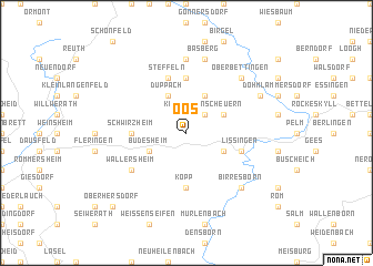 map of Oos