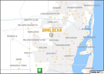 Opa locka (United States   USA) map   nona.net