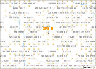 map of Opeia