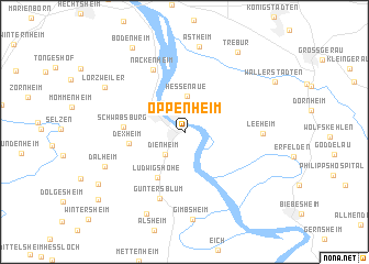 Oppenheim Germany Map Nona Net