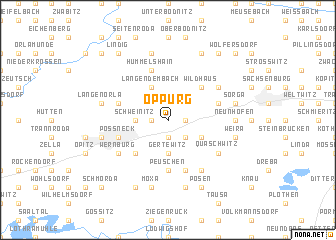 map of Oppurg
