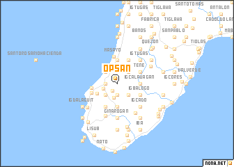 map of Opsan