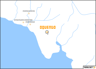 map of Oquendo