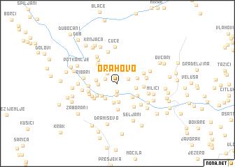 map of Orahovo
