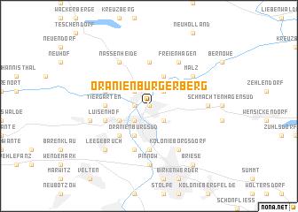 map of Oranienburger Berg