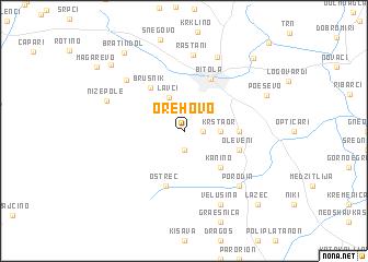 map of Orehovo