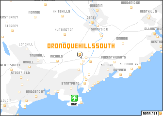 map of Oronoque Hills South