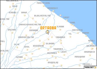 map of Ortaoba