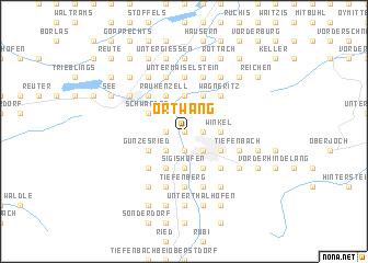 map of Ortwang