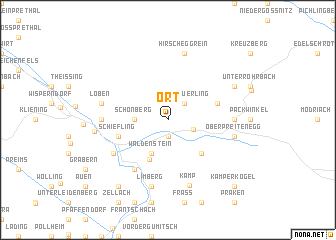 map of Ort