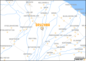 map of Oruzhba