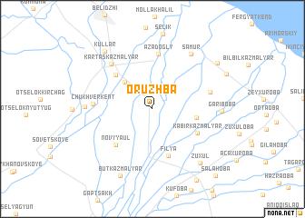 map of Oruzhba