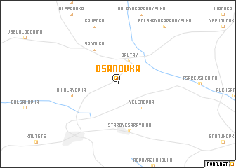 map of Osanovka