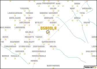 map of Osboola