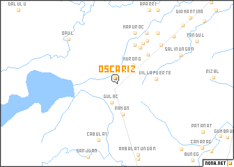 map of Oscariz