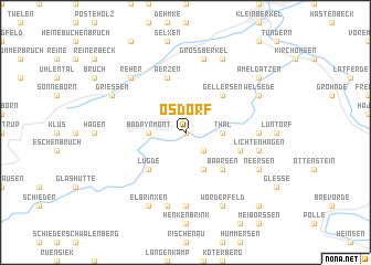 map of Ösdorf