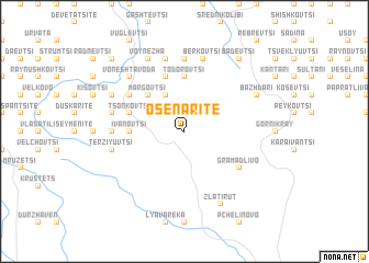 map of Osenarite