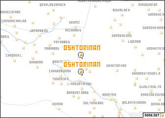 map of Oshtorīnān