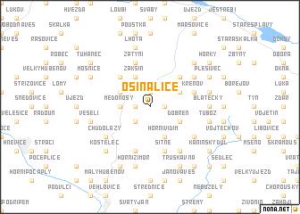 map of Osinalice