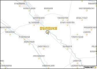 map of Osinovka