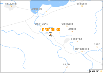 map of Osinovka