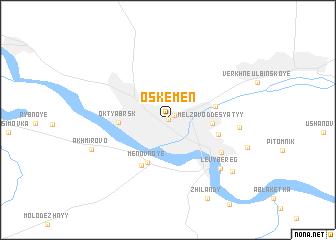 skemen Kazakhstan map nonanet