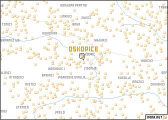 map of Oškopice