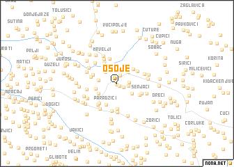 map of Osoje