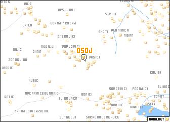 map of Osoj