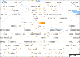 map of Osowia