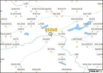 map of Osowo