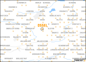 map of Ossel