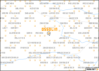 map of Ossolin