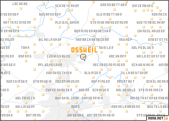 map of Oßweil