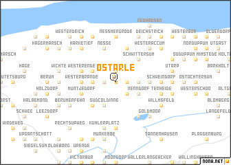 map of Ostarle