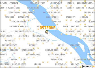 map of Ostende