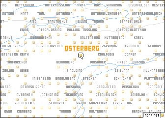 map of Osterberg