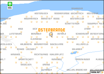map of Osterbrande
